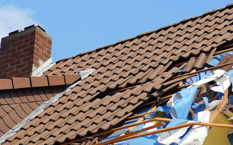 Roof Repair Essex and London storm damage work